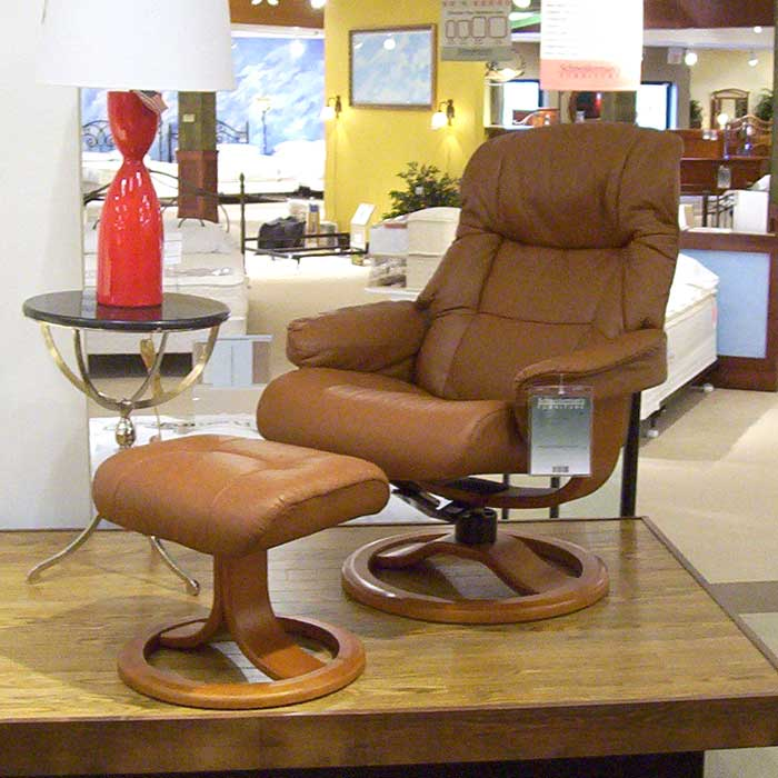 Hjellegjerde Scansit Reclining Chair Amp Ottoman Wilson S
