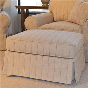 HM Richards 2875 Group Casual Ottoman with Skirt