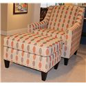 HM Richards 7596 Chair and Ottoman - Item Number: 7596-01+06