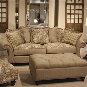 Allouetta - Praire Traditional Roll Arm Sofa by HM Richards