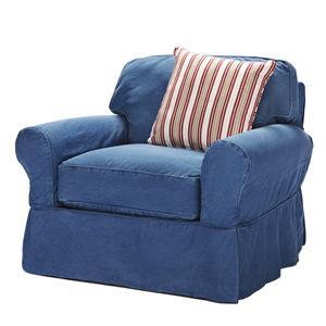 Hm Richards Beachside Casual Skirted Chair