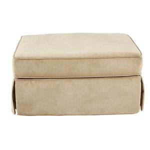 Hayward Skirted Ottoman by HM Richards