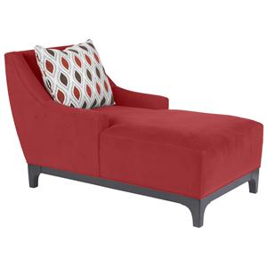 Suede-So-Soft  Super Comfortable Chaise in Modern Furniture Design  by HM Richards