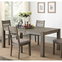 Holland House 1126 Dining Table - Item Number: 1126-4278L