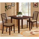 Holland House Ivan Ivan Table + 2 Chairs - Item Number: 1237-3650L+2x313-S