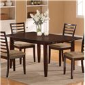 Holland House 1237 Dining Butterfly Leaf Dining Table - 1237-4072L