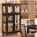 Holland House 1237 Dining Curio China Cabinet - 1237-49