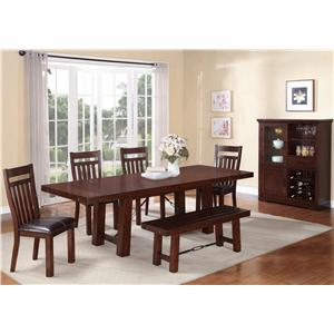 Holland House 1258 Dining Room Group