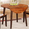 "Holland House Greer Round Table with Two 8.5"" Drop Leaves - Item Number: 1267-RD4242"