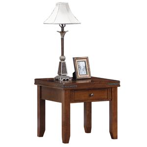 Morris Home Furnishings Coventry Coventry Square End Table