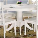 Holland House 1280 Round Pedestal Wooden Table