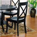 Holland House 1290 X Back Wooden Side Chair - 1290-841