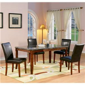Holland House 1298 5 Piece Table and Chair Set
