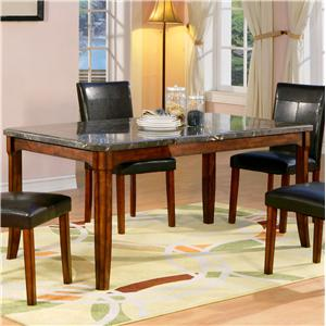 Holland House 1298 Marble Top Leg Table