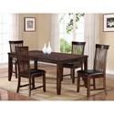 Holland House 19003 Rectangular Leg Dining Table