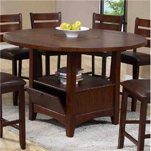 Morris Home Furnishings Dublin Round Table