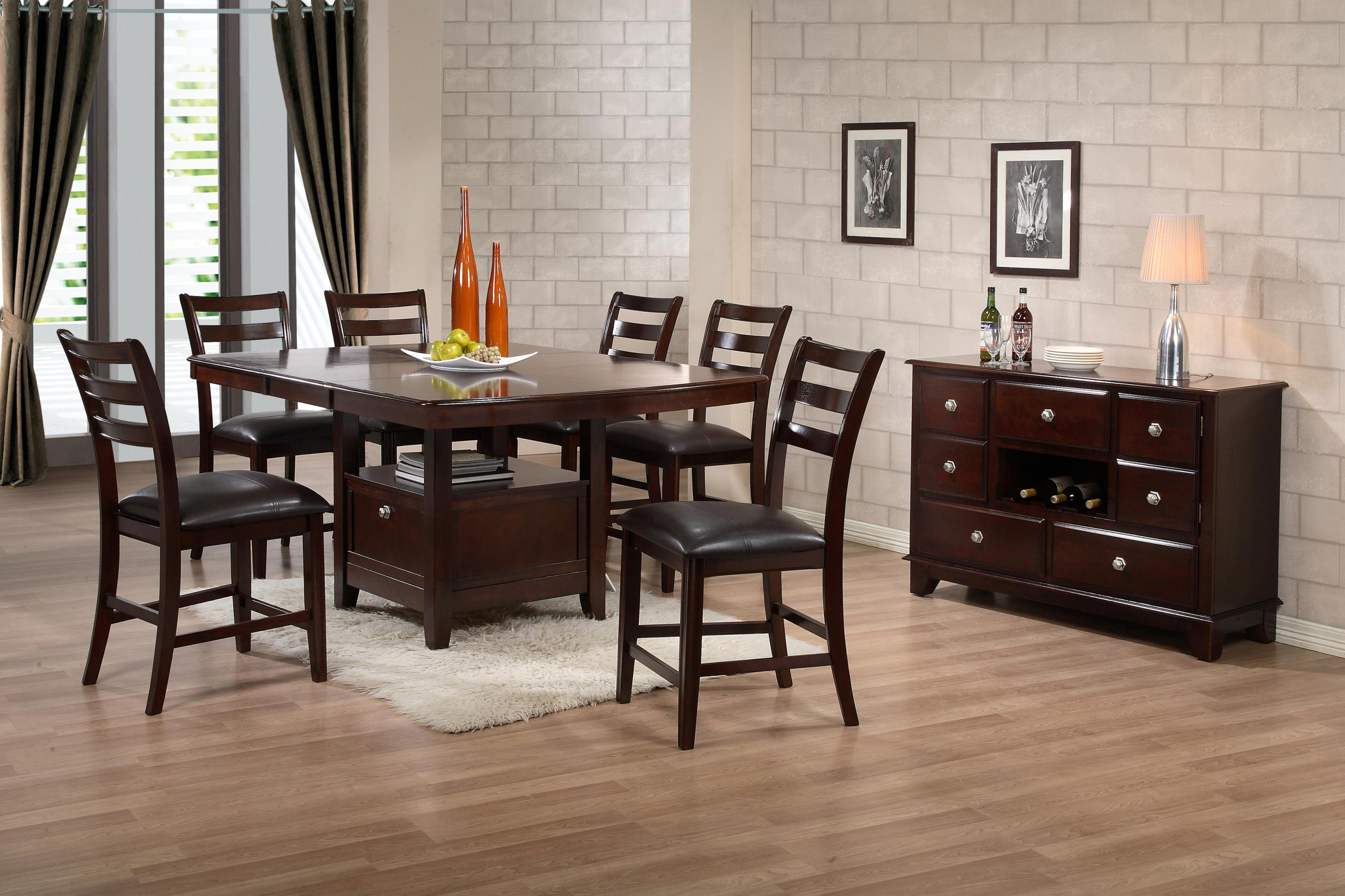 Holland House 1965 Dining Contemporary Pub Chair with UltraHyde Upholstery - Royal Furniture ...