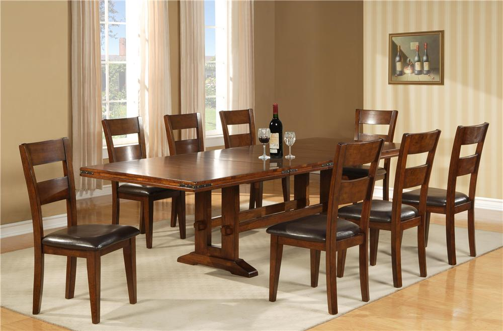 Morris Home Furnishings Coventry Coventry Dining Table - Item Number: 1268-44108