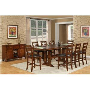 Morris Home Furnishings Coventry Coventry 5 Piece Pub Dining Set