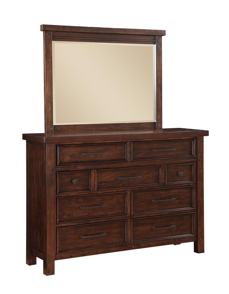 Morris Home Furnishings Sorrento Sorrento Dresser - Item Number: 2678-03