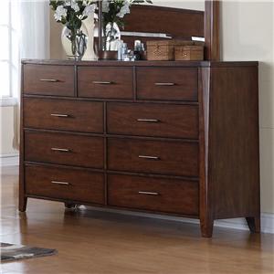 Holland House Braxton 9 Drawer Dresser