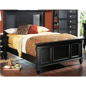 Holland House Black King Bed