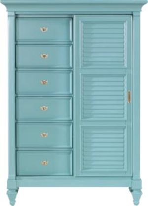 Holland House 249 Gentleman's Chest - Item Number: 249789-BLUE