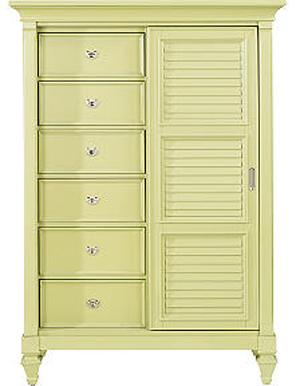Holland House 249 Gentleman's Chest - Item Number: 249789-GREEN