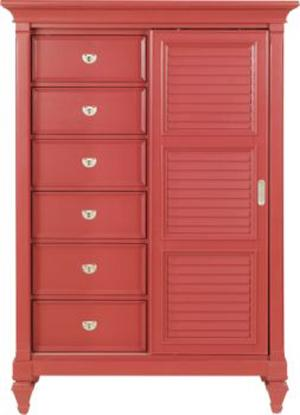 Holland House 249 Gentleman's Chest - Item Number: 249789-RED