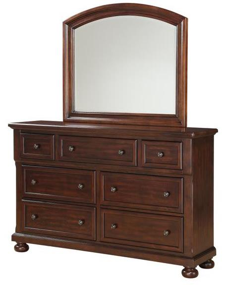 Holland House 2638 Dresser and Mirror - Item Number: 2638-03+04