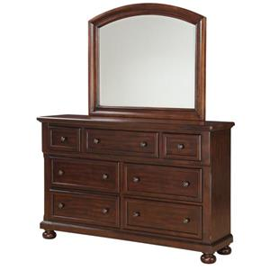 Holland House 2638 Dresser and Mirror