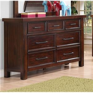 Holland House SONOMA YOUTH 6 Drawer Dresser