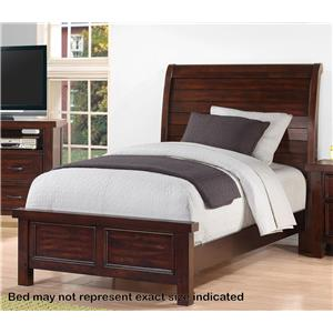 Holland House SONOMA YOUTH Full Sleigh Bed