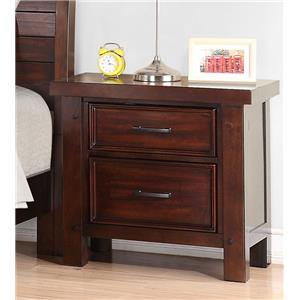 Holland House SONOMA YOUTH 2 Drawer Nightstand