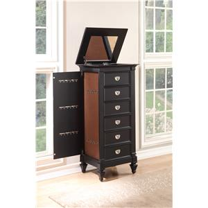 Holland House 2698 6 Drawer Jewelry Chest