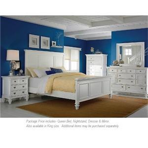 Holland House Belmar 4PC Queen Bedroom
