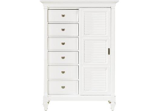 Holland House White Gentlemens Chest - Item Number: 497140