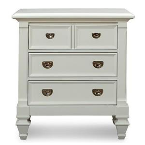 Holland House White Nightstand
