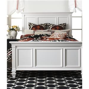 Holland House White Queen Bed