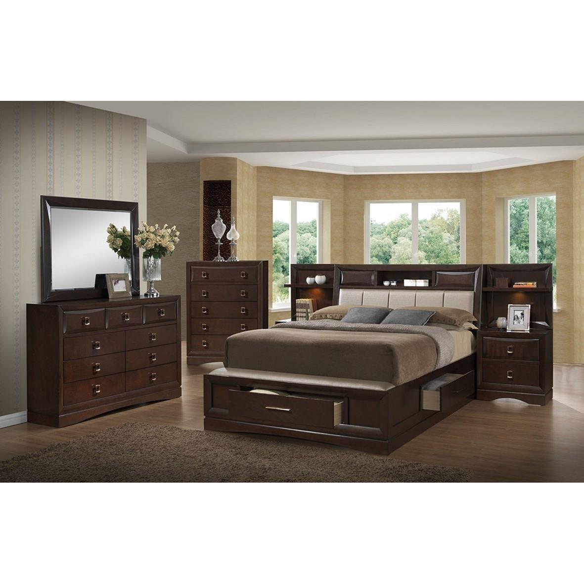 Holland House Franklin Queen 4-Piece Bedroom Group - Item Number: 5516 Queen Bedroom Group