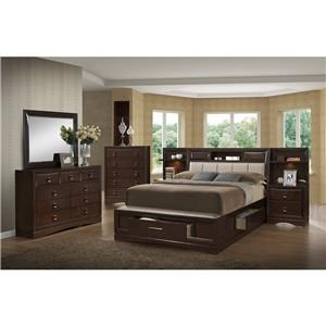 Holland House Franklin Queen 4-Piece Bedroom Group