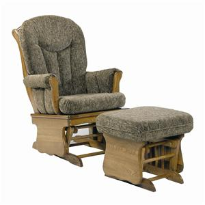 Holland House 58 Glider Chair and Ottoman