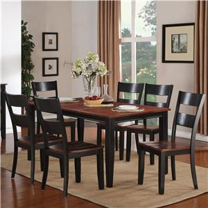 Holland House 8202 7 Piece Dining Set
