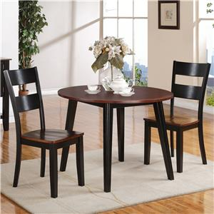 Holland House 8202 3 Piece Table and Chair Set