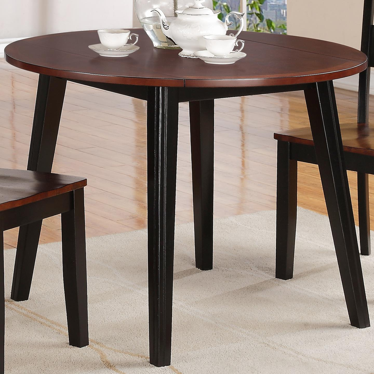 Holland House 8202 Round Drop Leaf Table - Item Number: 8202-4242