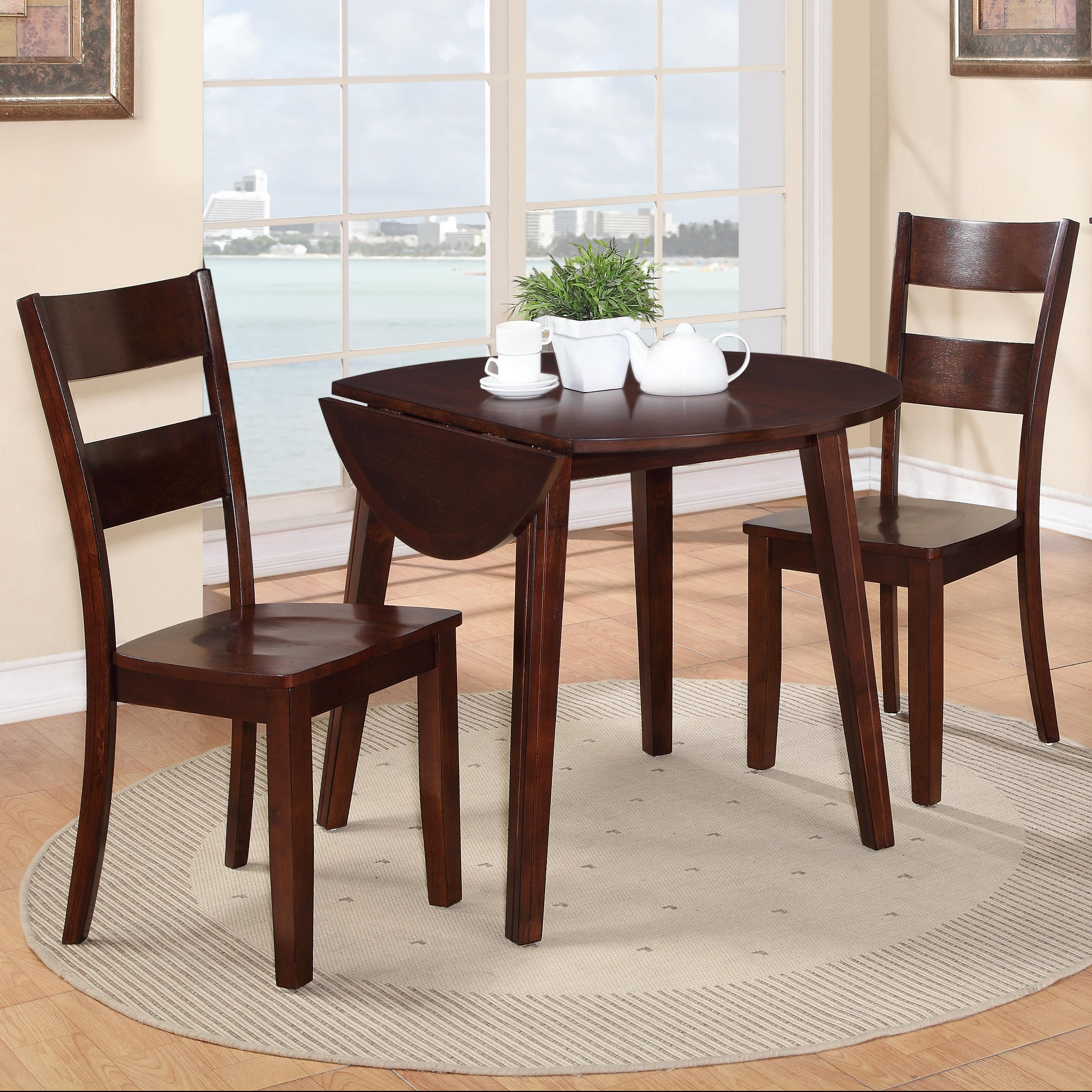 Holland House 8203 3 Piece Table And Chair Set   Item Number: 8203 4242