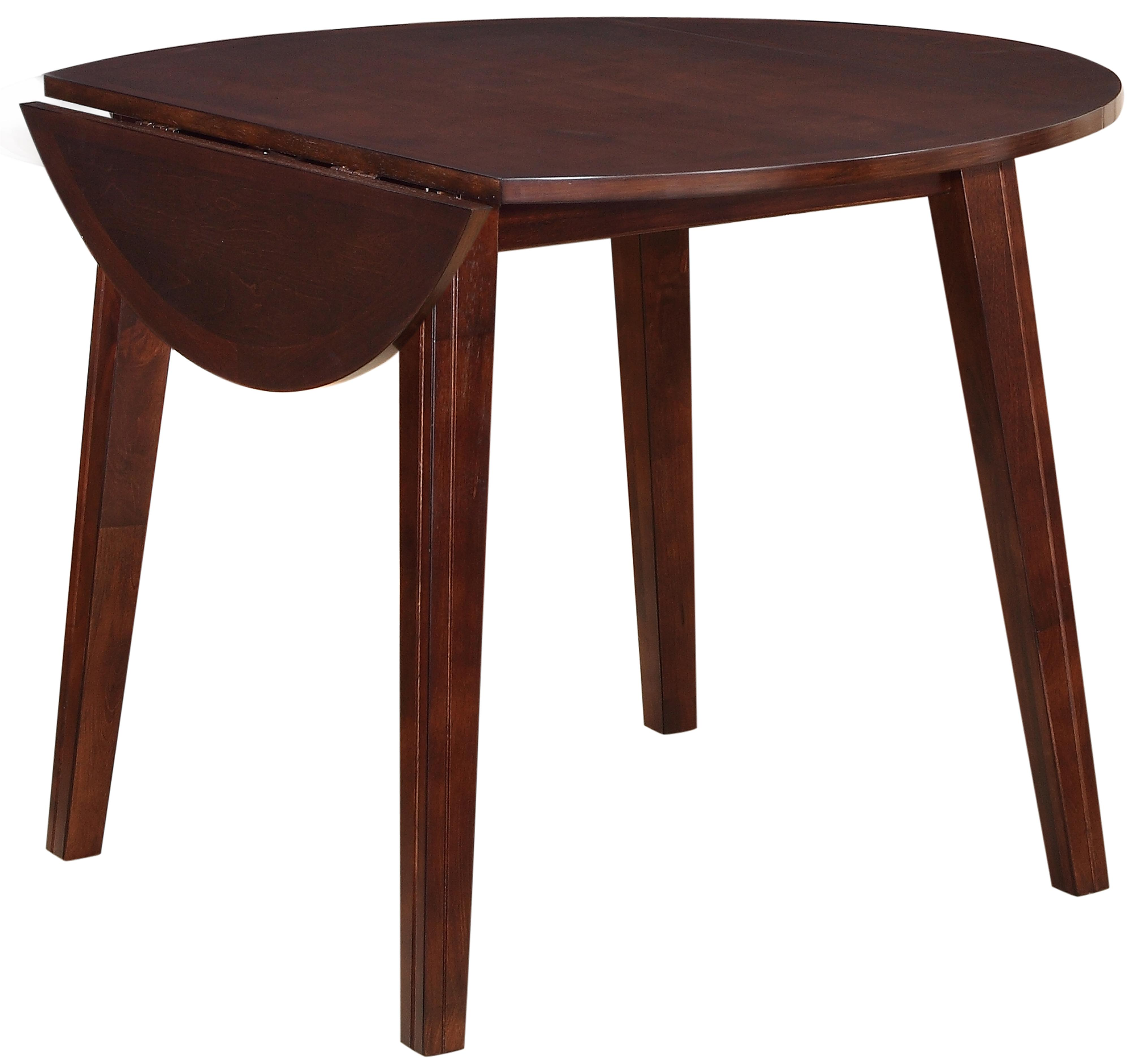 Holland House 8203 Round Drop Leaf Table - Item Number: 8203-4242