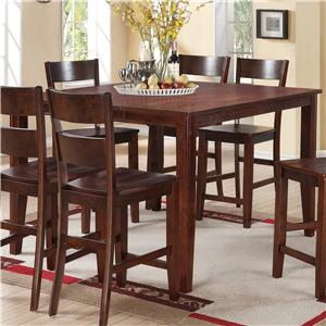 Holland House 8203 Square Counter Height Pub Table