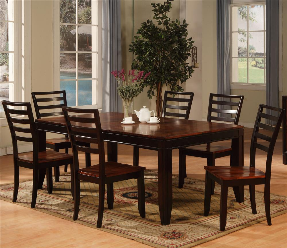 Holland House Adaptable Dining 7 Piece Contemporary Dining Set Fmg Local Home Furnishing Dining 7 Or More Piece Set