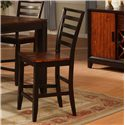 Holland House Adaptable Dining Counter Chair - 1267-CPB553-S